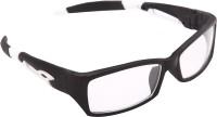 OVERDRIVE Rectangular Sunglasses(For Men, Clear)