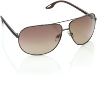 Miami Blues Aviator Sunglasses(Brown)