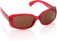 MTV MTV-1006-160 Rectangular Sunglasses(Brown)