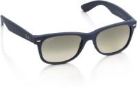 Ray-Ban Wayfarer Sunglasses(Brown, Grey)