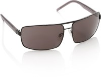 Sisley Rectangular Sunglasses(Brown)