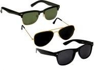 Verre Wayfarer Aviator Wayfarer Sunglasses(For Boys)