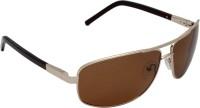 IRYZ Oval Sunglasses(For Men & Women, Brown)
