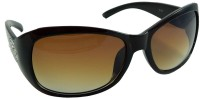 Els CD-A-941 Over-sized Sunglasses(Brown)
