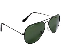 Aislin Rectangular Sunglasses(Green)