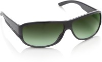 Diesel Rectangular Sunglasses(Green)
