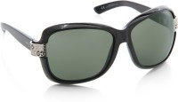 GUCCI Over-sized Sunglasses(Green)