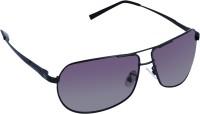 Gio Collection LSKL120010-KL88309 Black- cream Aviator Sunglasses(Grey)