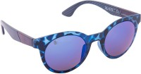 Blackburn Round Sunglasses(Blue)