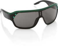 Diesel Round Sunglasses(Black)