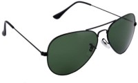 Abster AB-S-3026-BLK-GRN-S Aviator Sunglasses(Green)
