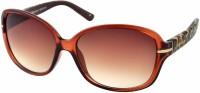 Joe Black Over-sized Sunglasses(For Women, Brown)