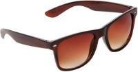 Saugat Traders Wayfarer Sunglasses(Brown)