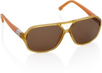 Lacoste Rectangular Sunglasses(Brown)