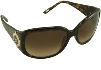 Chopard Oval Sunglasses(Brown)