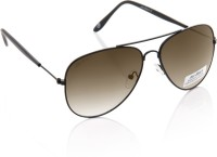 Joe Black JB-607-C5 Aviator Sunglasses(Brown)