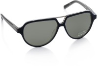 Calvin Klein Aviator Sunglasses(Grey)