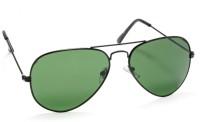 Stacle Aviator Sunglasses(Green)