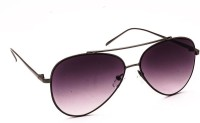 Stacle Aviator Sunglasses(Violet)