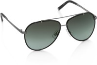 Dsquared Aviator Sunglasses(Grey, Green)