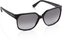 Salvatore Ferragamo Over-sized Sunglasses(Grey)