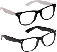 Abster AB-F-1026-BWB-AB-F-1026-BBB Wayfarer Sunglasses(Clear)