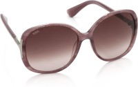 Tod's Over-sized Sunglasses(Violet)
