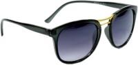 Peter Jones Wayfarer Sunglasses(Black)