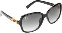 Clark N' Palmer Over-sized Sunglasses(Grey)