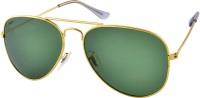Creed Aviator Sunglasses(Green)