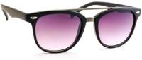 STACLE Rectangular Sunglasses(For Men, Violet)