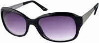 Joe Black Oval Sunglasses(For Women, Grey)