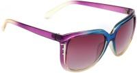 Eyeland Rectangular Sunglasses(For Men & Women, Violet)