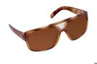 Adidas Rectangular Sunglasses(Brown)