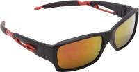 OVERDRIVE Rectangular Sunglasses(For Men, Multicolor)