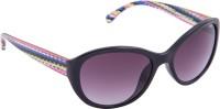 IDEE Cat-eye Sunglasses(Violet)