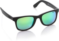 Opium Wayfarer Sunglasses(Yellow, Green)