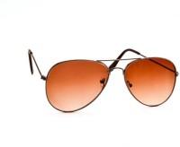 Stacle Aviator Sunglasses(Brown)