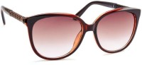STACLE Over-sized Sunglasses(For Men, Brown)