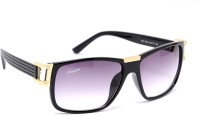 Amaze Wayfarer Sunglasses(Violet)