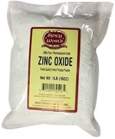 Spicy World World Zinc Oxide 1 Pound Bag - NON NANO - 100% Pure Pharmaceutical Grade - Perfect for Sunscreen - SPF 20 PA+(50 g)
