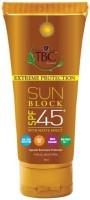 TBC by Nature Sun Block Cream With Matter Finish - SPF 45 PA+(100 ml) - Price 129 45 % Off