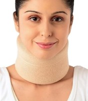 Vissco Cervical Collar Soft Neck Support (M, Beige)