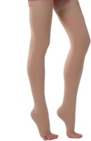 ONTEX Cotton Compression Stockings Thigh Length Thigh Support(Beige)