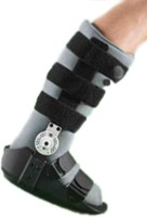 OPPO Air Walker Rom Hinged Ankle Support (L, Black)