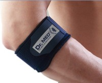 Dr.Med Msddre001 Elbow Support (Free Size, Blue)