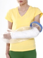 Tynor Cast Cover (Arm) Hand Support (Free Size, White)