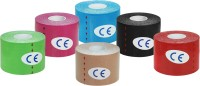 A-TAPE Kinesiology Tape (Pack of 12) Knee, Calf & Thigh Support (Free Size, Red, Black, Blue, Pink, Greeen, Skin)