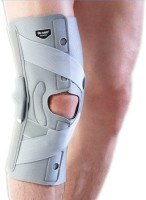 Dr.Med HINGED RIGHT MCL Knee Support (XL, Grey, White)