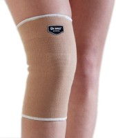 Dr.Med Sleeve Soft Compression Knee Support (L, Beige)